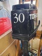 Tohatsu. 30,00л.с., 2-тактный, бензиновый, нога S (381 мм), 2006 год