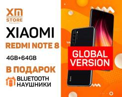 Xiaomi Redmi Note 8. Новый, 64 Гб, Черный, 3G, 4G LTE, Dual-SIM