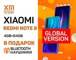Xiaomi Redmi Note 8. Новый, 64 Гб, Синий, 3G, 4G LTE, Dual-SIM