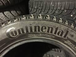 Continental ContiWinterViking 1. зимние, без шипов, 2017 год, б/у, износ 30%
