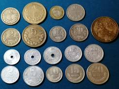 Монголия. подборка из 19 монет.