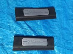 Накладки на порог салона пара Cadillac Escalade 2009г 6.2L