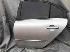Дверь Sonata 5 NF 2004-2010, левая задняя с замком и стеклоподъёмником