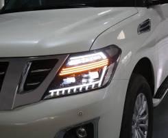 Фары(Тюнинг Комплект) Nissan Patrol (Y62) 2010 - 2017.