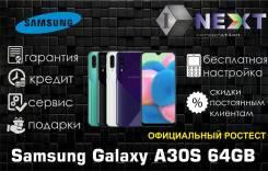 Samsung Galaxy A30s. Новый, 64 Гб, Белый, Бирюзовый, Фиолетовый, Черный, 3G, 4G LTE, Dual-SIM, Защищенный, NFC. Под заказ