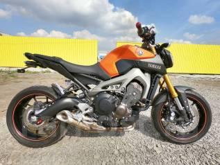 Yamaha MT-09. 850куб. см., исправен, птс
