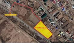 Земельный участок в Тополево возле объездной трассы Хабаровска,. 7 000кв.м., аренда