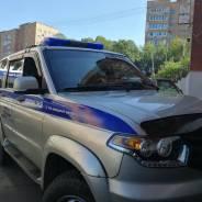Полицейский-водитель. Управление вневедомственной охраны по г. Владивостоку. Владивосток, проспект Океанский 123б