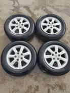Колёса Bridgestone 195/65R15+++литье 5/114.3 Toyota из Японии