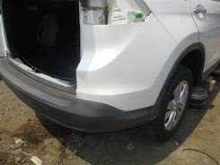 Бампер задний Honda Crv RM4 K24A 2012 белый