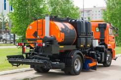 КамАЗ 43253. Автогудронатор / поливомоечное оборудование на шасси Камаз 43253 комби
