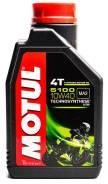 Motul 5100. 10W-40, полусинтетическое, 1,00л.