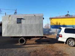 Прицеп вагончик., 2015. Продам утепленный жилой вагончик.