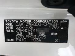 Дверь левая задняя Toyota VOXY / NOAH / Esquire 80
