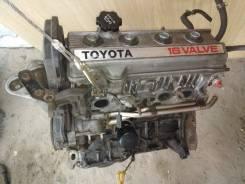 Двигатель в сборе тойота 4SFE