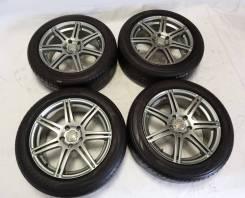 """Диски Bridgestone BEO c шинами 215x55x17. 7.0x17"""" 5x114.30 ET30 ЦО 73,1мм."""