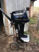 Suzuki. 15,00л.с., 2-тактный, бензиновый, нога S (381 мм), 2019 год