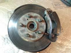 Ступица с тормозным диском Toyota Corona, CT190, 2C, левая передняя