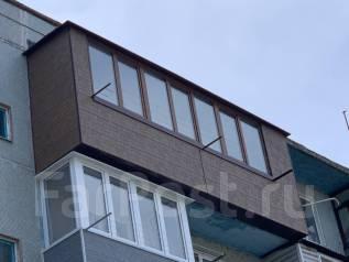 Балконы, Окна, Отделка, Расширение под КЛЮЧ.