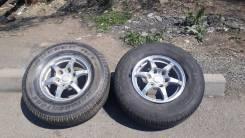 Продам 2 колеса 265/70/R16 с шинами и дисками на MMC Pajero