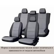 Чехлы сиденья CHEVROLET CRUZE 2009 Жаккард 8 предм. MATEX Серый T43gr