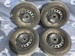 [11973] Комплект колес R15 на резине 2017г. Yokohama IG50 195/65/15