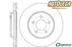 Диск тормозной перед. G-brake FORD Maverick 00-08 / Mazda Tribute (EP) GR-20899