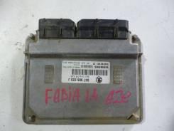 Блок управления двигателем Fabia 1999-2007