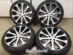 "Диповые VIP колёса Venerdi Weissach 245/40R19 98Y. 8.5x19"" 5x114.30 ET35 ЦО 73,0мм."
