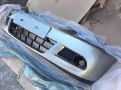 Новый окрашенный бампер (Серо-бежевый / KNM) Nissan Almera G15 12-