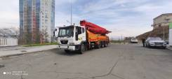 KCP. Бетононасос 40 метров во Владивостоке, 40,00м.