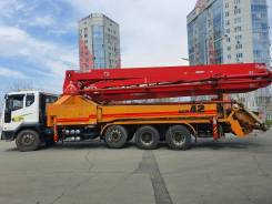 KCP. Продается бетононасос 40RX200 на базе Daewoo Novus 2008, 10 964куб. см., 42,00м.