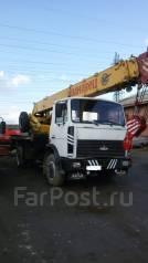 Ивановец КС-35715. Автокран ивановец Маз КС-35715 2004г, 11 150куб. см., 18,00м.