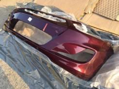 Бампер передний новый (фиолетовый / PXA) Hyundai Solaris 11-14г