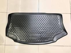 Модельный штатный коврик в багажник Nissan Leaf, 2009-2017