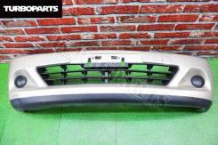Бампер передний *Рестайл* Nissan Tiida JC11 (C42) [Turboparts]