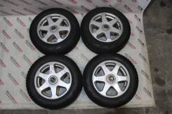 Колеса R15 Toprun sporty spoke на резине Bridgesrone Blizzak Revo GZ