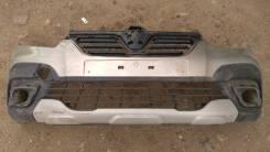 Рено Сандеро 2 передн бампер 620220494R в сборе с решеткой