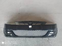 Бампер передний Renault Logan 10-14 г. в новый, чёрный