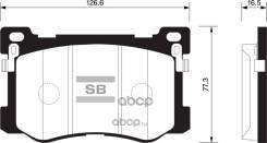 Колодки Передние Kia Quoris 12/Hyundai Equus 09 Sangsin Brake Gp1547 Sangsin brake арт. GP1547