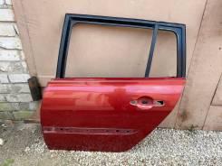 Дверь задняя левая Renault Megane 2 универсал №2