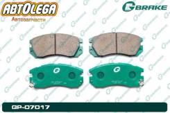 Колодки п. G-brake Subaru Impreza WRX GC8/GF8 93-96 Legacy BC/DF 89-93 GP07017