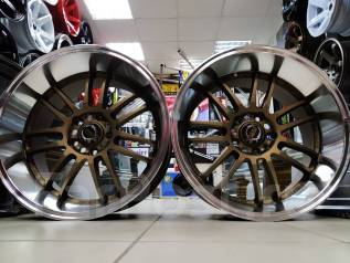 "RAYS Volk Racing. 9.5/10.5x18"", 5x114.30, ET20/25, ЦО 73,1мм."