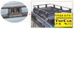 Багажники-корзины. Toyota Land Cruiser Prado, GRJ120, GRJ120W, KDJ120, KDJ120W, KZJ120, LJ120, RZJ120, RZJ120W, TRJ120, TRJ120W, VZJ120W