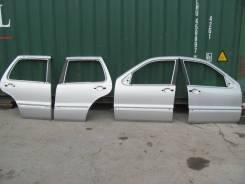 Двери комплект рестайл. Mercedes-Benz ML- Class W163 из Японии.