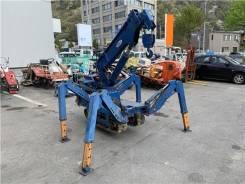 Maeda. Кран-паук на гусеничном ходу бензин 1500кг, 300куб. см., 7,00м.