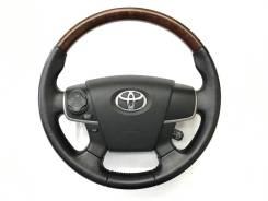 Оригинальный обод руля под дерево Toyota Camry 2011-2014