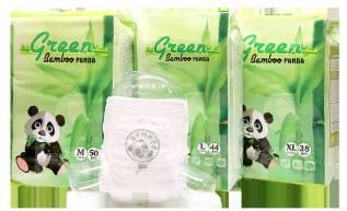 Новинка! Детские подгузники-трусики Green Panda Bamboo. 7-12кг кг 50шт