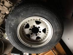 Продам литой диск с резиной r-16 6*139.7 Toyota Land Cruiser Prado 78