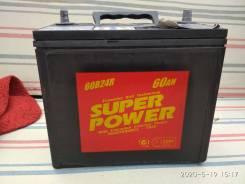 Super Power. 60А.ч., Прямая (правое), производство Япония